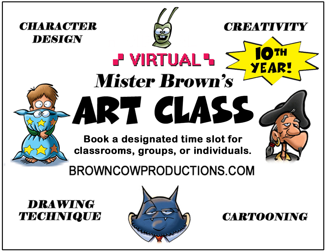 Mister Brown's Art Class
